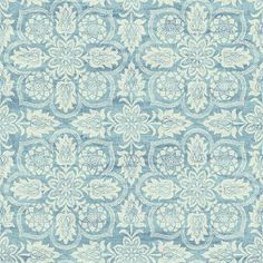 Attain a timeless and innovative look to the walls with this York Wallcoverings Waverly Classics II Curators Gem Removable Wallpaper. Waverly Wallpaper, Damask Wallpaper, Embossed Wallpaper, Wallpaper Roll, Wall Wallpaper, Bohemian Wallpaper, Bedroom Wallpaper, Blue And White Wallpaper, Stripped Wallpaper