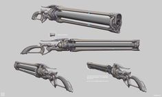 The Tenora wasas part of the Octavias Anthem updated and the other rifle will come out at a later date. It was revealed by me during Tennocon These both evolved out of the development of the Pandero eventually becoming their own things. Sci Fi Weapons, Weapon Concept Art, Fantasy Weapons, Weapons Guns, Warrior Concept Art, Shot In The Dark, 70s Sci Fi Art, Long Rifle, Future Weapons