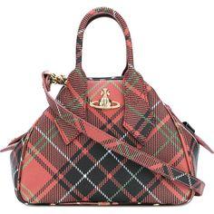b183212959b9 Vivienne Westwood tartan shoulder bag (£380) ❤ liked on Polyvore featuring  bags