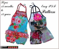 Free Printable Sewing Patterns | Romper Sewing Patterns – Catalog of Patterns