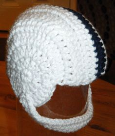 Crochet baby PSU football helmet | Posted via email from Ste… | Flickr