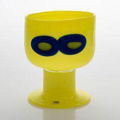 Oiva Toikka, maljakko, signeerattu Oiva Toikka, Nuutajärvi Notsjö. - Bukowskis Glass Design, Design Art, Modern Contemporary, Retro Vintage, Planter Pots, Home Appliances, House Appliances, Appliances