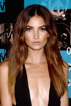 Lily Aldridge's Ombre Locks