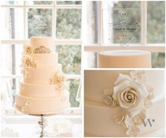 Fanciful Monogram Personalized Clear Acrylic Block Cake Topper #reception - cake topper - wedding