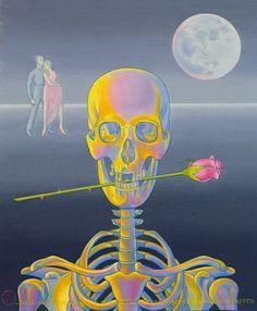 """Baile andaluz""  Margaret Marley Modlin, 1994  Oleo sobre lienzo 46x55 cm."