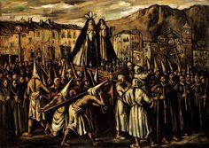 forma es vacío, vacío es forma: José Gutiérrez Solana - pintura Spanish Painters, Spanish Artists, Dark Paintings, Art History, Gothic, Fine Art, Google, Ideas Para, Culture