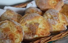 Gluten Free Living, Tasty, Yummy Food, Gluten Free Recipes, Free Food, French Toast, Muffin, Low Carb, Dishes