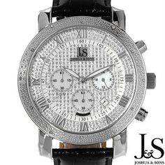 Luxstyle4u - JOSHUA AND SONS Brand New Gentlemens Chronograph Date Watch With Precious Stones - Genuine Diamonds and Mother of pearls, $130.00 (http://www.luxstyle4u.com/joshua-and-sons-brand-new-gentlemens-chronograph-date-watch-with-precious-stones-genuine-diamonds-and-mother-of-pearls/)