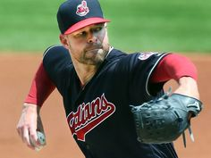Cleveland Indians Corey Kluber, pitching against the Toronto Blue Jays in the first inning at Progressive Field, on July (Chuck Crow/The Plain Dealer). Corey Kluber, Cleveland Indians Baseball, Babe Ruth, Toronto Blue Jays, Pitch, Crow, Mlb, Ohio, Baseball Cards