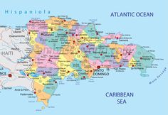 The Dominican Republic  Spanish: República Dominicana  is a country on the island of Hispaniola, in the Greater Antilles archipelago in the Caribbean region. The western three-eighths of the island is occupied by the nation of Haiti, making Hispaniola one of two Caribbean islands, along with Saint Martin, that are shared by two countries.