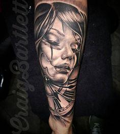 """dermaldelights_tattoo: """"#blackandgrey #blackandgreytattoo"""""""