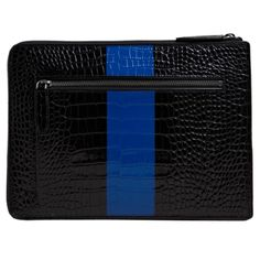 Dries Van Noten Contrast Stripe iPad case