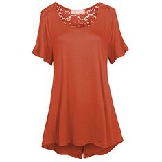 Women's Scoop Neck Short Sleeve Floral Lace Tulip Back High Low Plus Size Top Hot from Hollywood http://www.amazon.com/dp/B01CT0FRGU/ref=cm_sw_r_pi_dp_dd-axb0RCX4X1