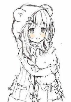 New drawing anime girl sketches manga art ideas Anime Drawings Sketches, Anime Sketch, Manga Drawing, Manga Art, Cute Drawings, Anime Chibi, Anime Kawaii, Manga Anime, Anime Lineart