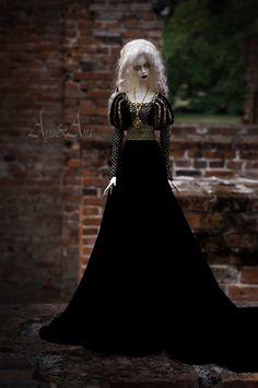 Magic Craft OOAK handmade dress set for bjd dollfie sd by AyuAna
