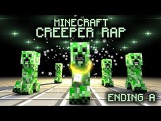 The Minecraft Creeper Rap [Music Video]
