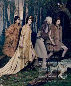 Vogue Japan October 2014 | Bruna Rosa, Dasha Gold + More | Emma Summerton