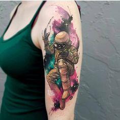 Tattoo art by Russell Van Schaick, Orlando -