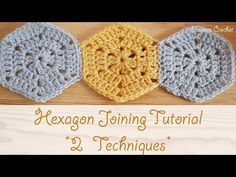 How to Crochet a Hexagon and Join Them – Design Peak
