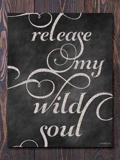 Wild Soul Art Print - earmarksocialgoods like the type and placement