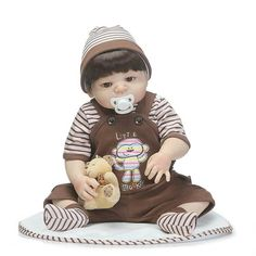 Bebe Reborn Joe Inteiro em Silicone, (Pode tomar banho) - Loja da Bebe Reborn - Frete Grátis p/ todo o Brasil