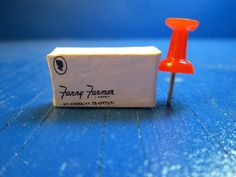 Miniature Brand Name Candy Box Empty E1071 Dollhouse