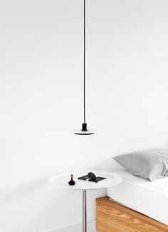 Calcite is a collection of minimal pendant and floor lamps created by London-based designer Romain Voulet. Ligne Roset, One Design, Light Shades, Home Lighting, Floor Lamp, Minimalism, Ceiling Lights, Flooring, Pendant