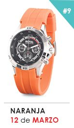 Reloj Naranja Chronograph, Accessories, Fashion, Orange, Style, Moda, Fashion Styles, Fasion, Ornament