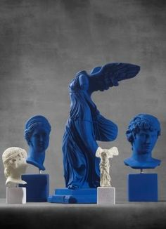 Eternity Today Collection  #blue #colors #shades #statues #philosophy #eternitytoday #sophiaenjoythinking