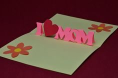 mothers day pop up free cards | Free Mother's day Pop Up Card Template and Tutorial