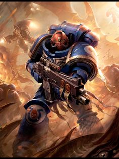 Warhammer 40k Artwork | Primaris Space Marine http://wellofeternitypl.blogspot.com #artwork #art #aos #warhammer #40k #40000 #arts #artworks #gw #gamesworkshop #wellofeternity #wargaming