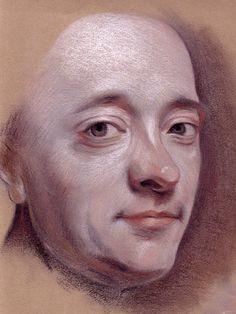 Maurice Quentin de la Tour. (Self-Portrait)