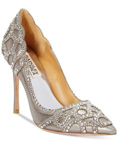 Badgley Mischka Rouge II Evening Pumps - Pumps - Shoes - Macy's