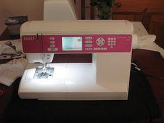 Twenty-first Century Lady: Pfaff ambition 1.0 Review -- my new sewing machine!!!