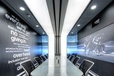 Inside Adidas' Shanghai, Athletic-Inspired Headquarters | Conference Room Design