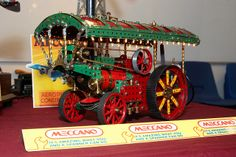 Meccano Showman's Steam Traction Engine   Flickr - Photo Sharing!
