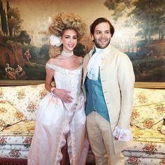 Casamento fashionista | Sabine Getty ❤️ Joseph Getty | #Joebine