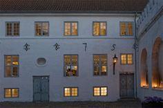 Evening at Dragsholm Castle. Located in Odsherred, Denmark. www.dragsholm-slot.dk