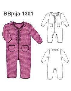 PIJAMA ENTERITO BEBE 1301 Baby Wearing, Peplum, Rompers, Patterns, Shorts, How To Wear, Dresses, Women, Fashion
