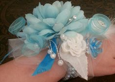 Corsage I made for my 7 year old for her Daddy Daughter Dance Daddy Daughter Dance, School Fundraisers, 7 Year Olds, Girl Scouts, Corsage, Girl Guides
