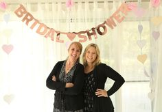 Me and the Mother in Law. Could not thank this wonderful woman enough for putting on an amazing bridal shower.
