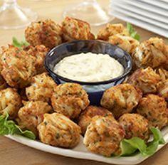 Crispy Crab Balls...Old Bay Recipes