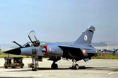 """""""Mirage F1C""""_ EC-03.012. Cambrai. Sept. 1981. Military Jets, Military Aircraft, Dassault Aviation, Africans, Good Ol, Vintage Pictures, Airplanes, Fighter Jets, France"""