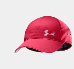 Women's UA ColdBlack® Run Cap | As I mentioned, I'm obsessed with this Hibiscus color. Love this hat! @Under Armour