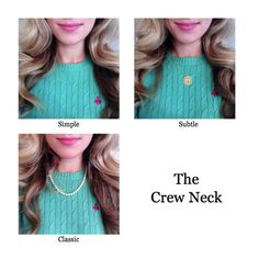 Pairing Necklaces with Necklines | The Dress Decoded