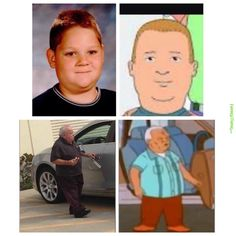 Funniest Memes - [I take your Bobby Hill/Bro and raise you a Cotton Hill/random dude in parking lot.]