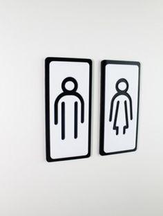 T33 - Toilet pictogram