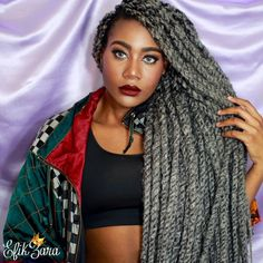 New vid ALL about these Marley Twists by @dmvcovercurls!! Follow, book her, and be sure to check out the vid for details. Link in my bio!  Subscribe: www.youtube.com/EfikZara