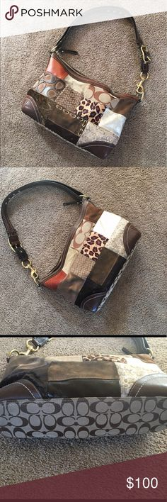 """Coach purse Coach purse.  Tiny flaws as shown in pictures. Super clean on the inside. 16""""Lx3.5""""Wx10.5""""H. Coach Bags"""