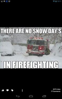 Winter firefighting is tough-Firefighters are tougher
